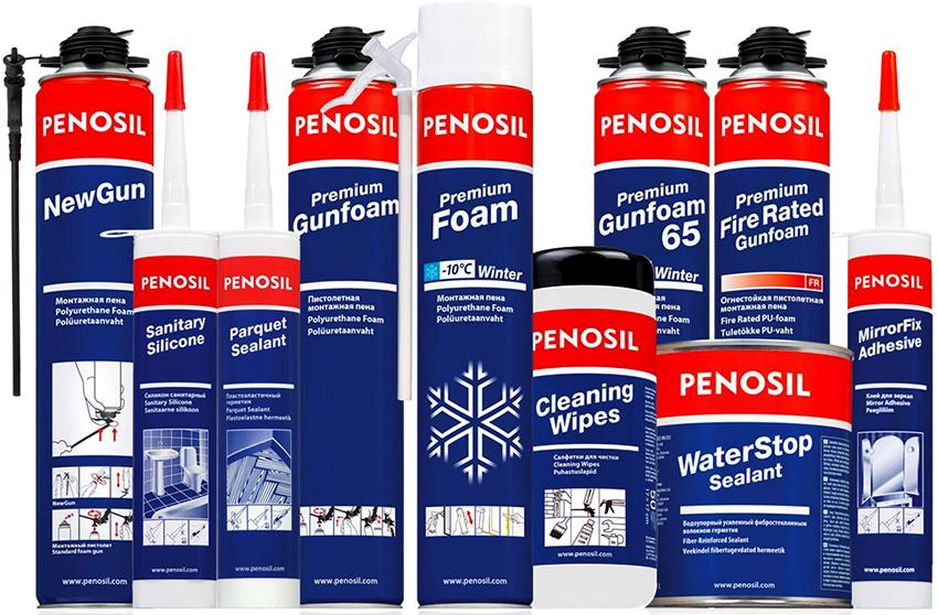 Герметик Penosil удобен в работе благодаря своей хорошей текстуре