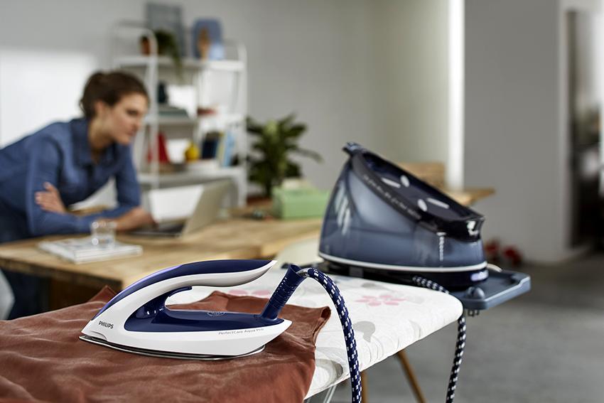 У разных моделей утюгов длина шнура может варьироваться от 80 см до 4 м