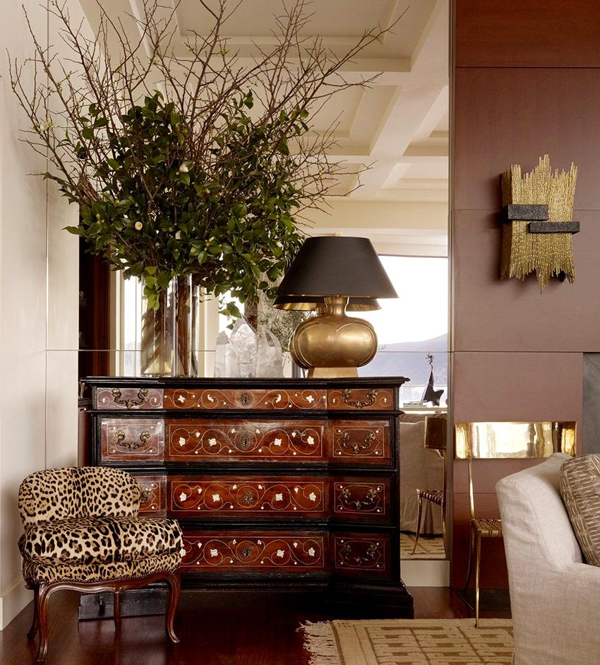Правильно подобранный комод идеально соответствует стилю и размеру помещения