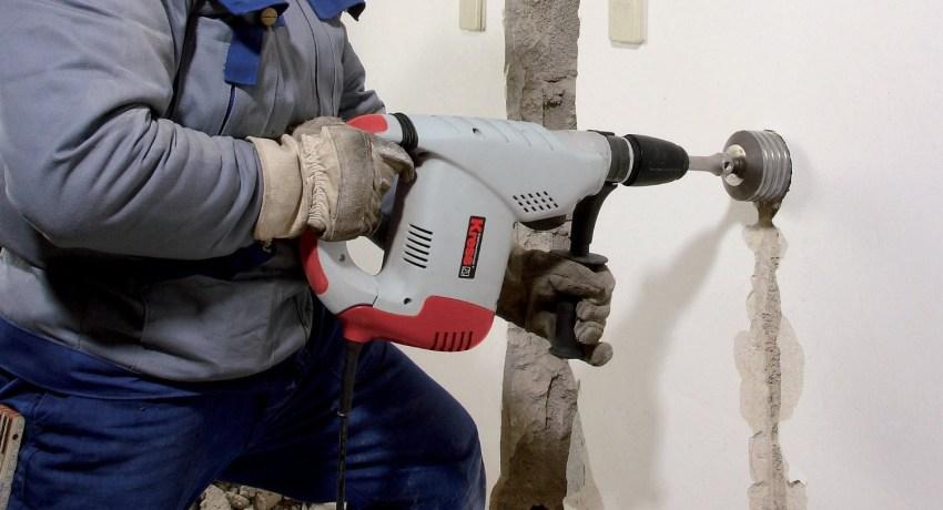 Коронка по бетону: эффективное решение ремонтных вопросов