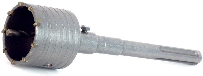 Перфоратор должен иметь мощность не менее 600 Вт, для использования насадок диаметром 68 мм