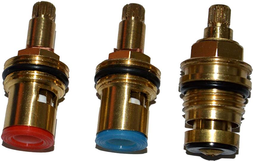 По ГОСТу стандартные размеры кран-букс для отечественных смесителей составляют 1/2 и 3/8 дюйма