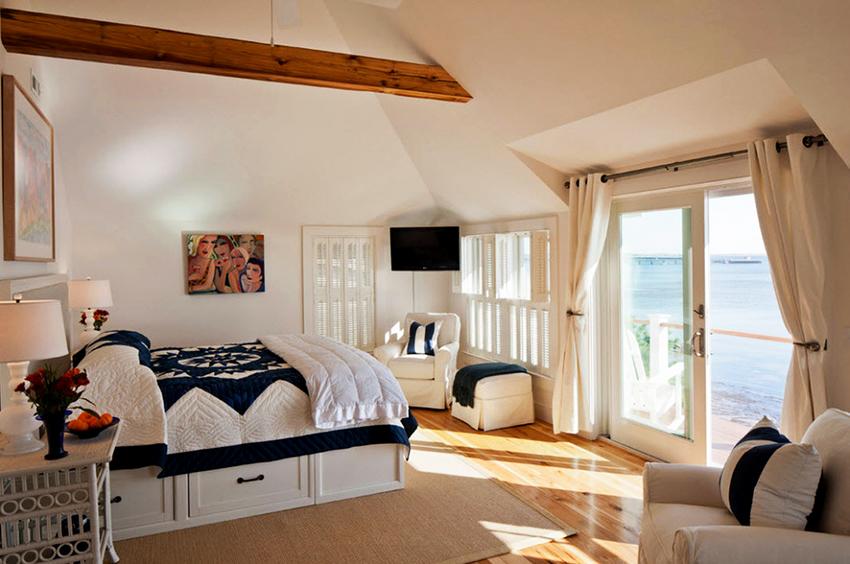 В ящиках кровати можно хранить как постельное белье, так и одежду или другие предметы
