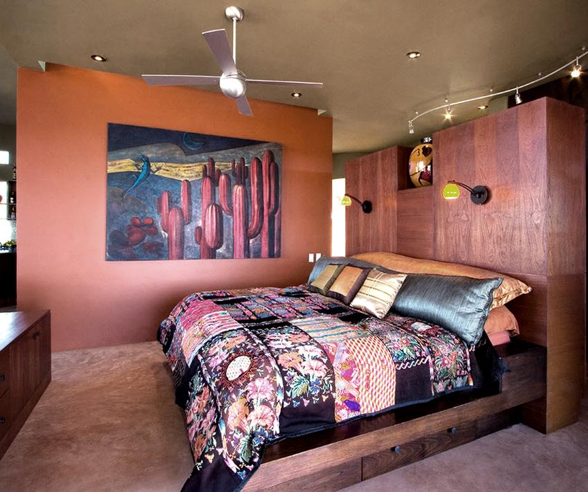 Кровать с ящиками – оптимальный выбор для спальни с небольшой площадью