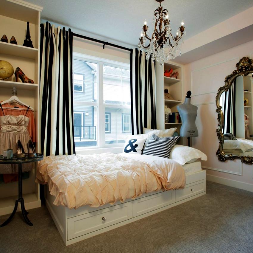 Красивые односпальные кровати с ящиками по умеренной цене можно найти в IKEA