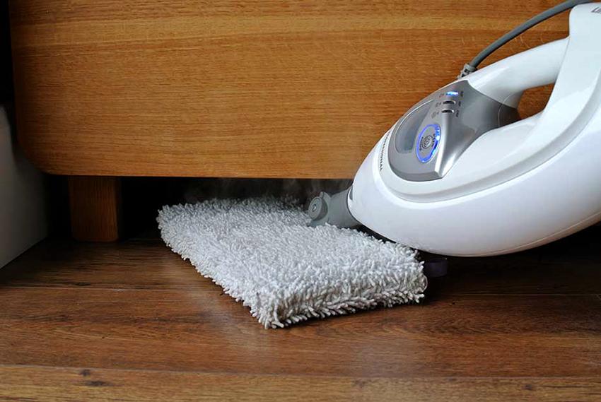 Бытовые парогенераторы позволяют не только очистить поверхность, но также и продезинфицировать их
