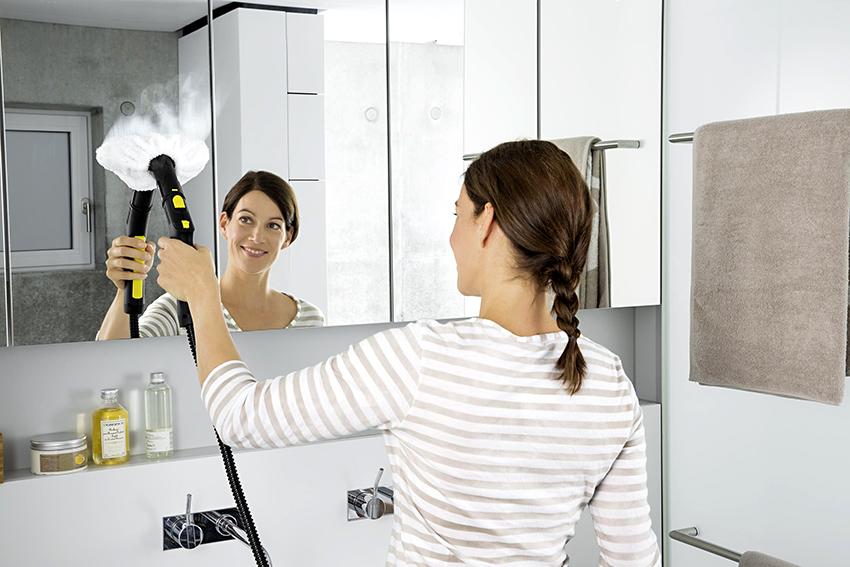 Пароочистители подходят почти для всех поверхностей в доме