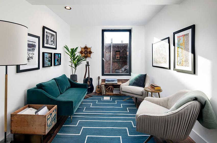 Размер дивана должен соответствовать потребностям владельцев и габаритам комнаты