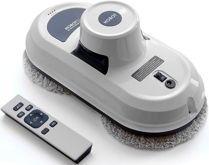 Устройство для мытья окон Hobot-188 имеет вес около 950 г