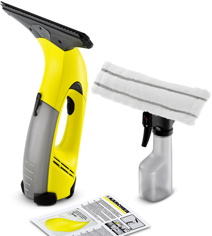 Пылесос для окон Karcher позволяет быстро и качественно помыть поверхность