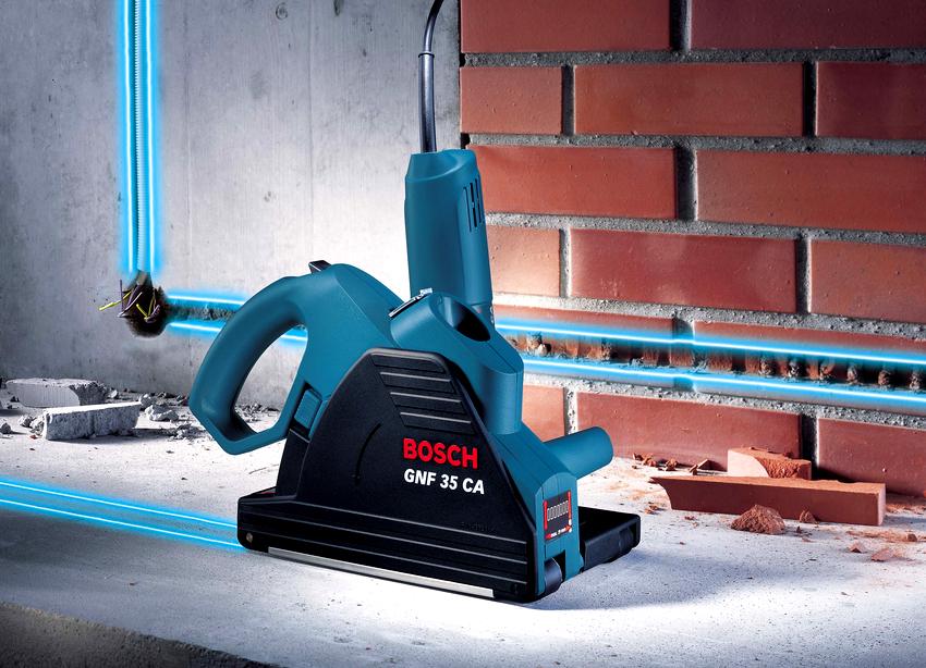 Третье место в рейтинге штроборезов занял инструмент Bosch GNF 20 CA