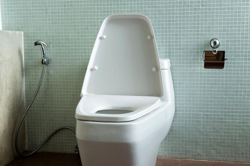 Гигиеничный душ несложен в работе, помогает сберечь время и место