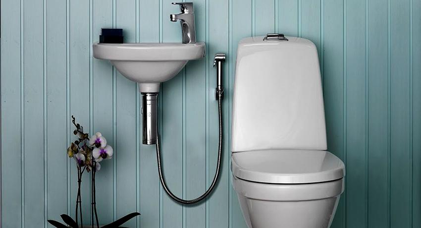 Смеситель с гигиеническим душем: самый лучший метод сделать узел удобным
