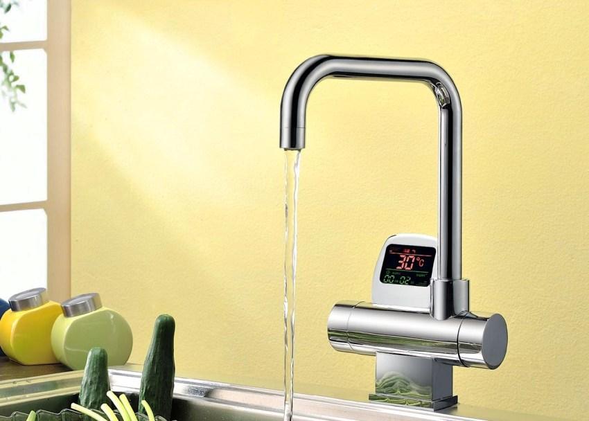 Смеситель с термостатом позволяет снизить расход воды ввиду более высокой точности настройки температуры