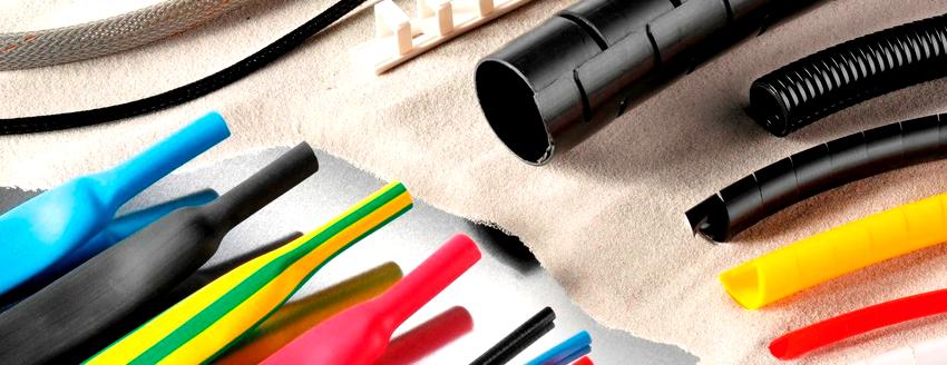 Термоусадочные трубки, изготовленные на основе силикона, имеют высокую гибкость и большой запас прочности