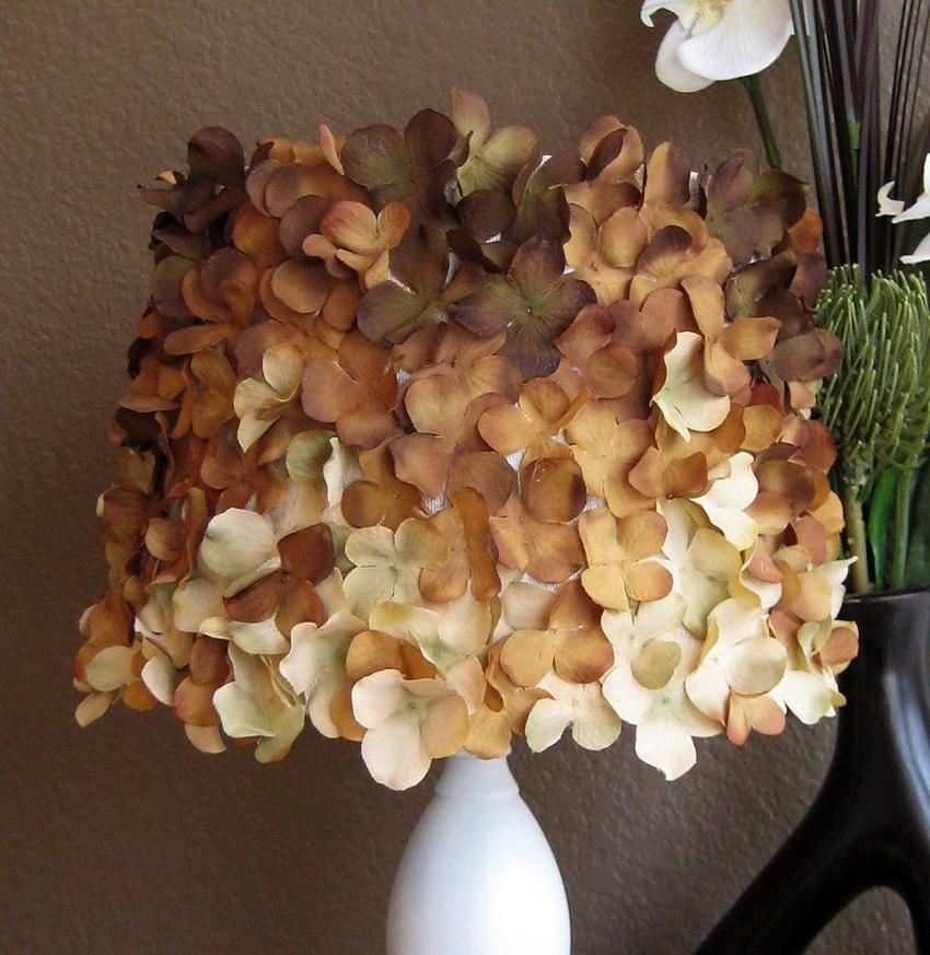 Чаще всего фоамиран используется для изготовления декора для абажуров торшеров и светильников