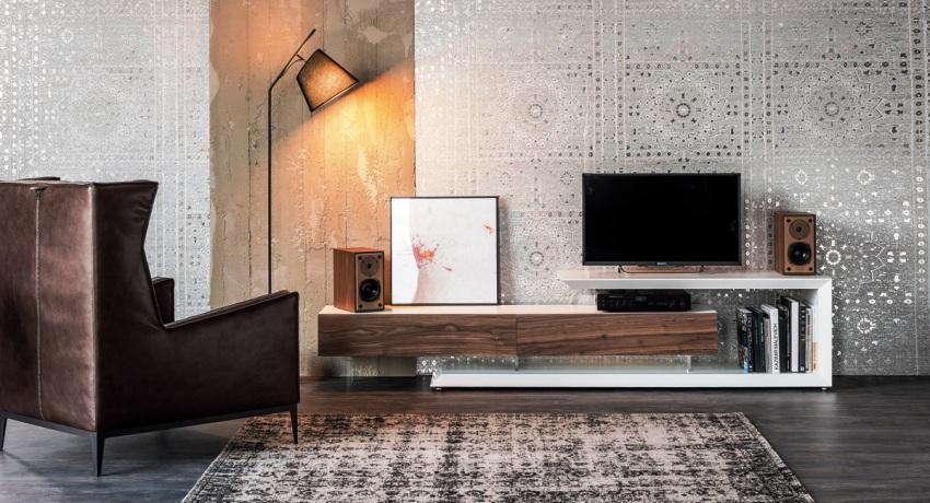 Тумба под телевизор в современном стиле: элегантный вид мебели