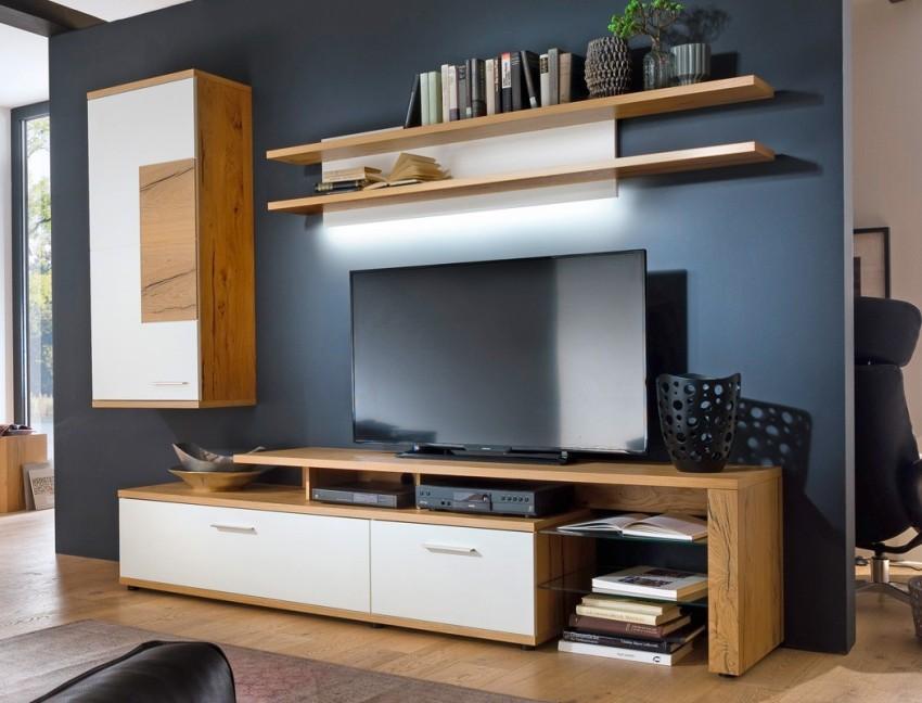 Правильно подобранная тумба является дополнением к телевизору и подчеркивает его достоинства