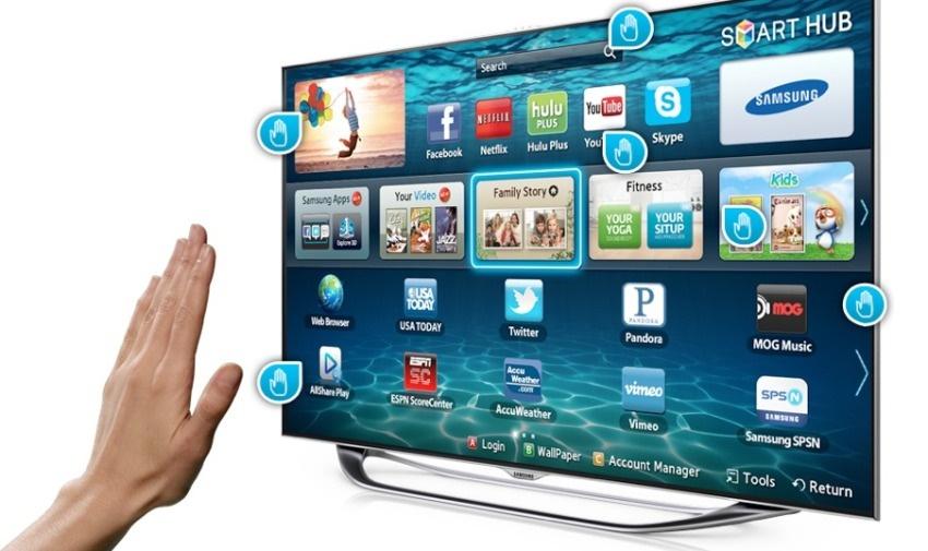 Чтобы подключит Смарт ТВ нужно лишь выбрать источник сигнала и активировать функцию автоматического поиска