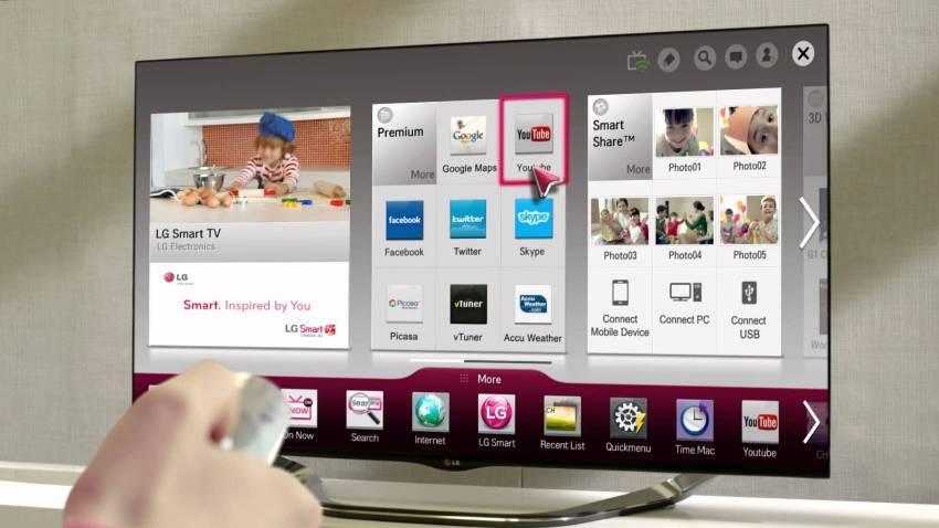Основное преимущество умных телевизоров — это выход самостоятельно в интернет, который позволяет просматривать фильмы онлайн