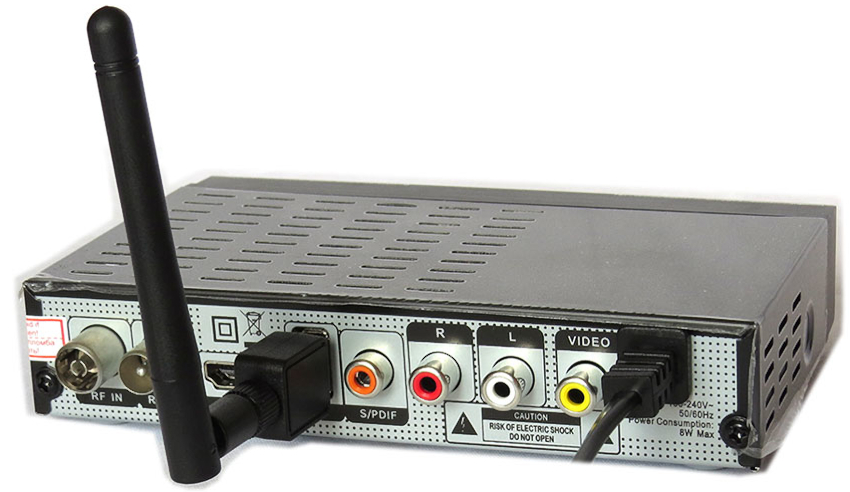 USB Wi-Fi адаптер сделает из обычной приставки беспроводное устройство