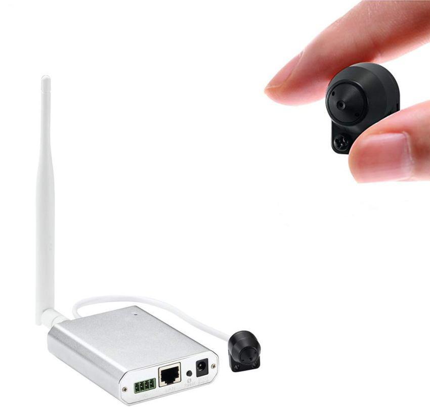 Беспроводные скрытые камеры работают от сети, батарейки или аккумулятора