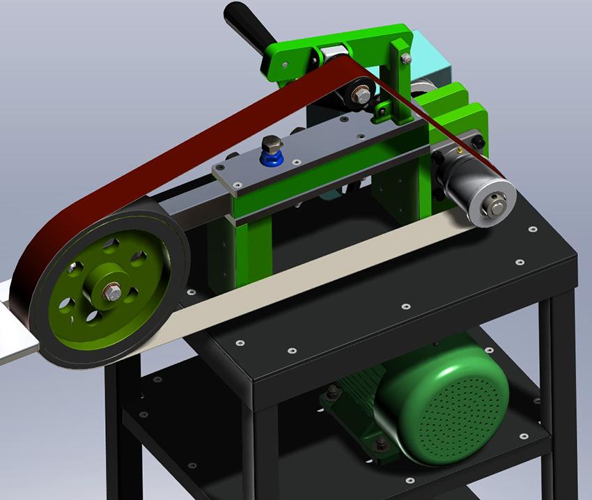 Чаще всего гриндер используют для обработки металла, но также могут применять для шлифовки дерева и стекла