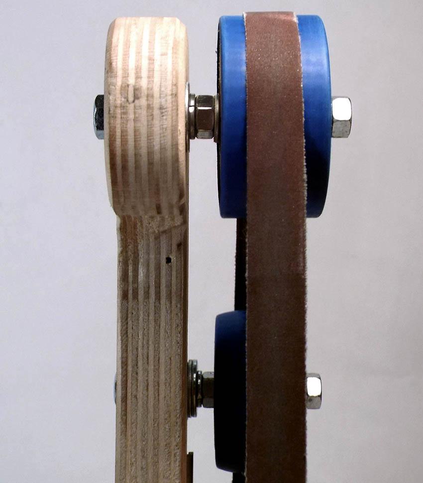 Ширина лент для ленточного гриндера существует в двух вариантах – 50 и 100 мм