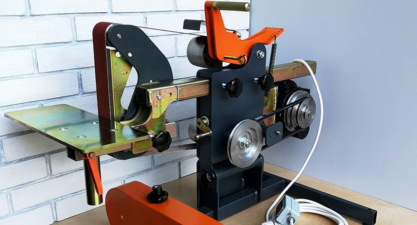 Ленточный гриндер: простое устройство для шлифовки и заточки