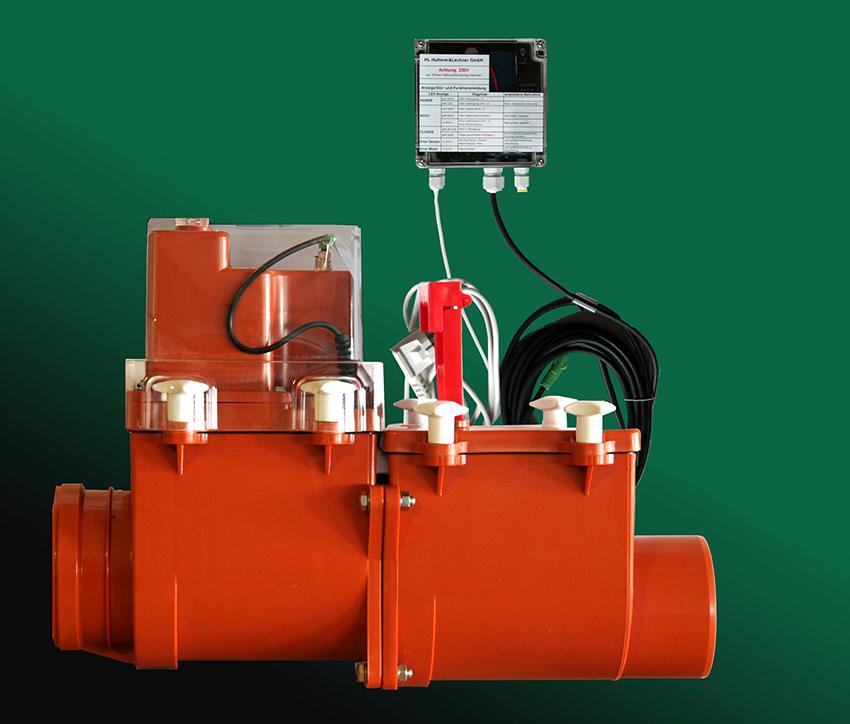 Автоматизированный клапан работает от электросети, при этом он оснащен аккумулятором на случай отключения электричества