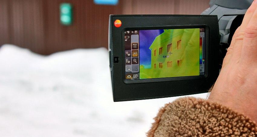 Инфракрасная камера поможет диагностировать целый ряд проблем