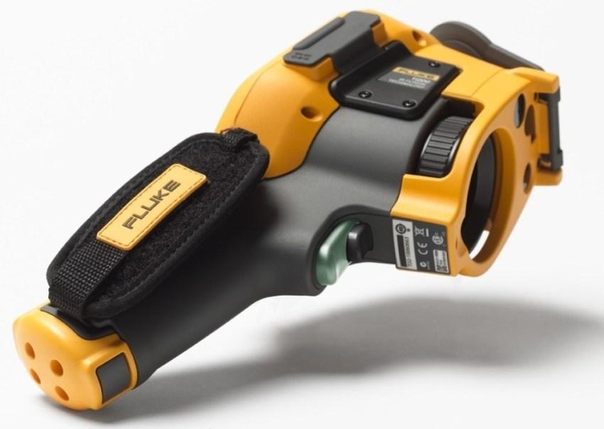 Благодаря нетрадиционной форме, тепловизор Flukе TіХ580 имеет возможность вращать дисплей