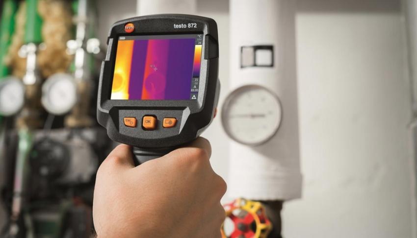 В сравнении с подобными технологиями тепловизионный метод абсолютно безопасный для здоровья людей и материалов конструкций