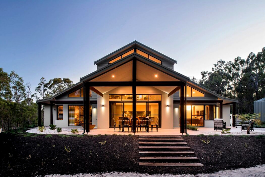 Внешняя отделка деревянного каркасного дома защитит его от гниения и грибка