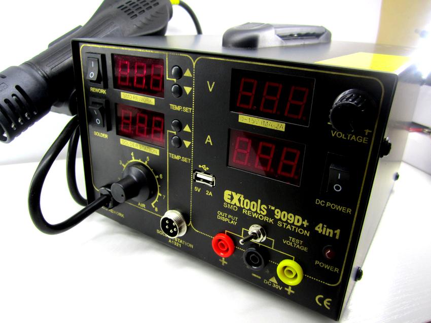 Выбирая паяльную установку с феном нужно обратить внимание на такие параметры, как мощность и диапазон регулировки температуры
