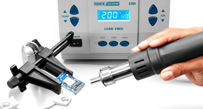 Паяльная установка с феном – это комплекс инструментов, которые предназначены для паяния компонентов