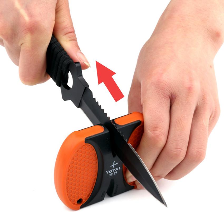 Приспособления для заточки ножей: простой и быстрый способ сделать лезвие острым