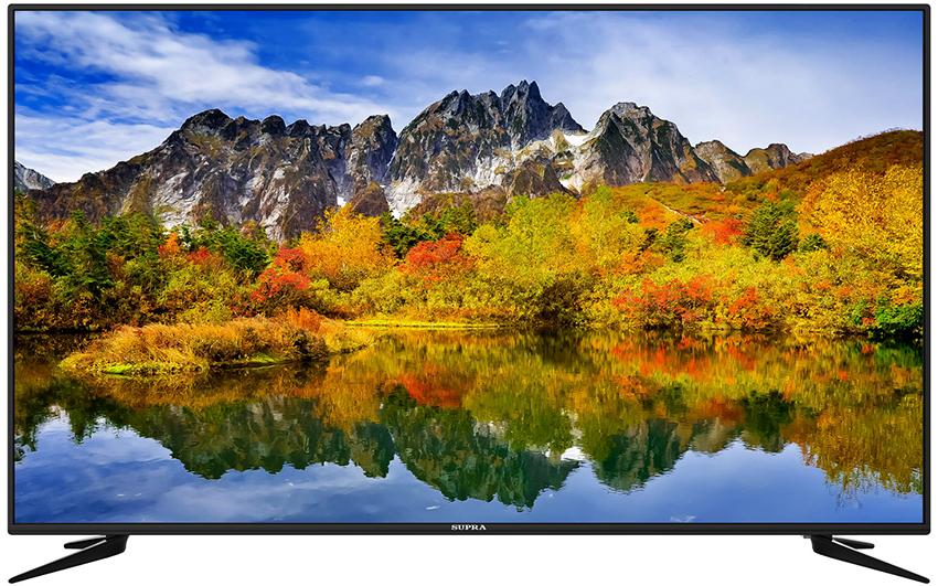 Смарт-телевизор SUPRA STV-LC60GT5000U укомплектован двумя тюнерами