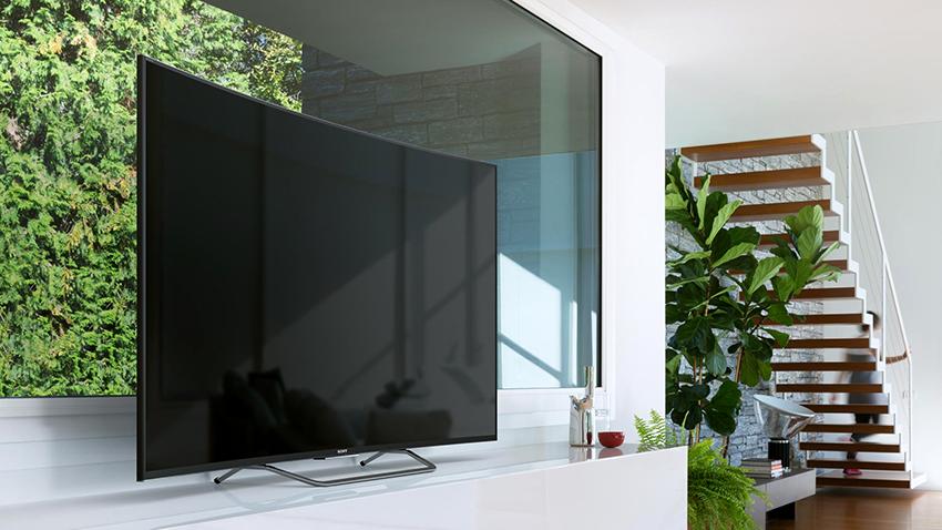 Телевизор Sonу KD-49XF7005 имеет антибликовое покрытие экрана