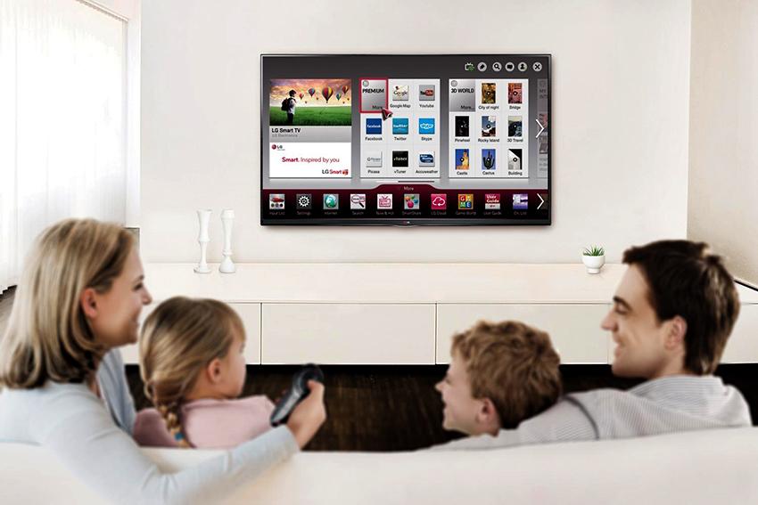 Многие современные модели телевизоров имеют встроенную приставку
