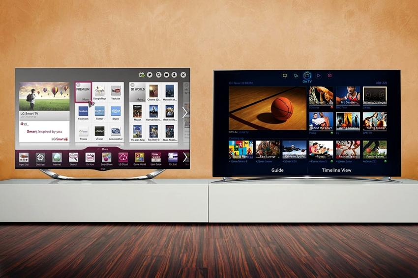 Бренд LG одними из первых начали производить смарт-телевизоры