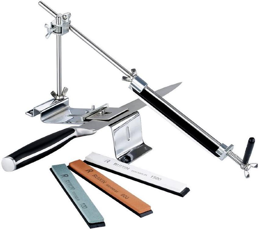 Перед работой важно правильно определить угол заточки ножа