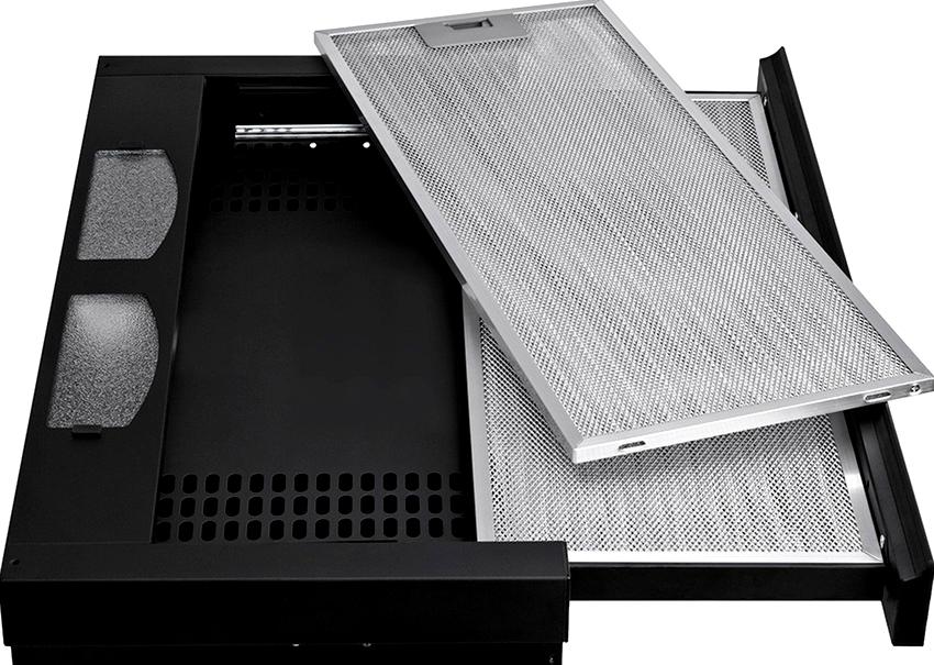 Алюминиевые жироулавливатели для вытяжки обеспечивают только грубую очистку воздуха