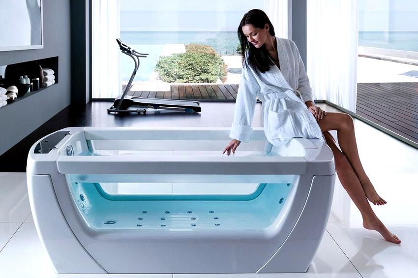 Цена гидромассажной ванны зависит не только от ее размера и функциональности, но и от материала, из которого она изготовлена