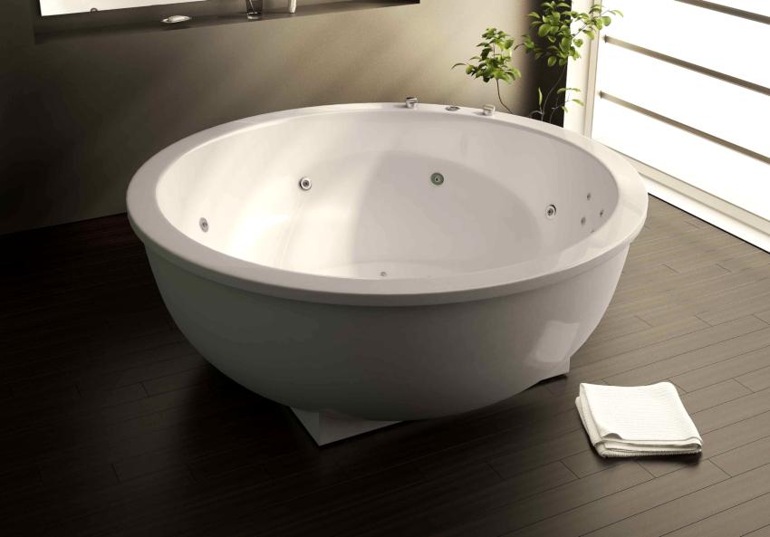 Мраморные ванны с гидромассажем являются самыми надежными и долговечными