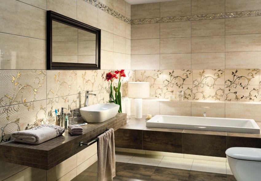 Ванны классической прямоугольной формы встречаются в продаже чаще всего