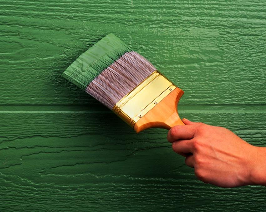 Краска для наружных конструкций отличается более высокой прочностью