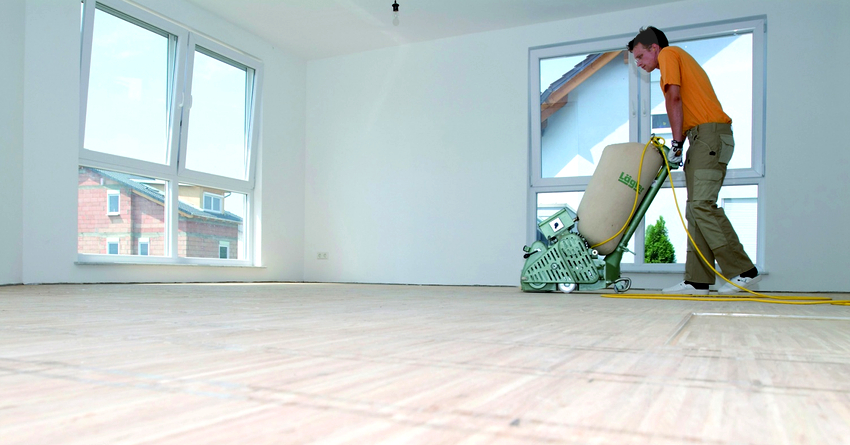 Выполнение циклевки старого деревянного пола не является сложным или затратным мероприятием