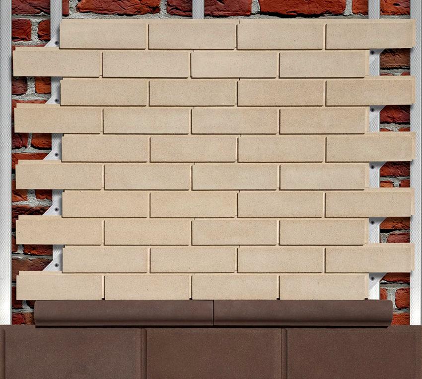 Основным компонентом для изготовления виниловых пластиковых фасадных панелей под кирпич является полихлорвинил