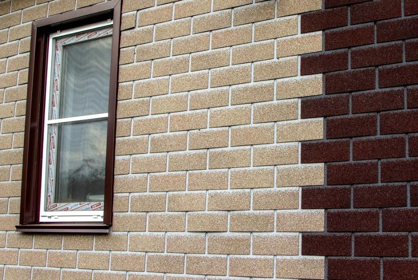 Мягкие фасадные панели под кирпич «Технониколь» состоят из четырех слоев